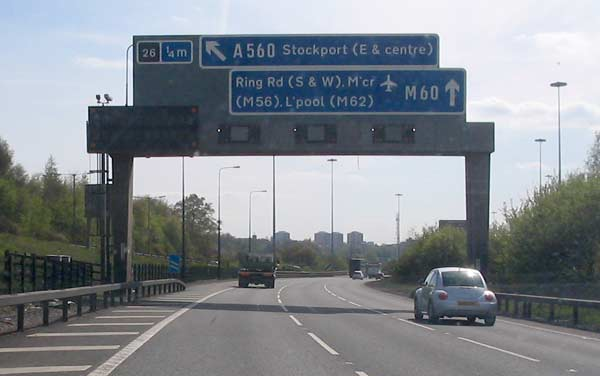 M60 West towards Stockport