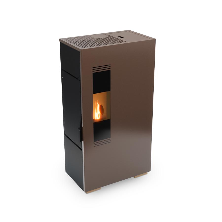 High efficiency pellet stove